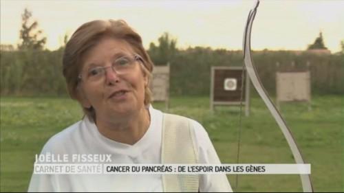 Joëlle Fisseux au Magazine de la Santé