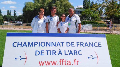 Championnat de France FITA Jeunes  – Vichy 26 au 28 Juillet 2016