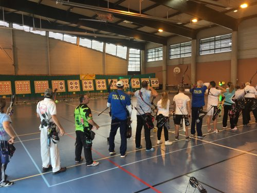 Compétition Salle 2x18m – Bollène et Chateaurenard 19 et 20 Novembre 2016