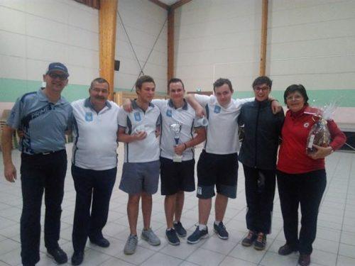 Compétition Salle 2x18m – Piolenc 12 et 13 Novembre 2016