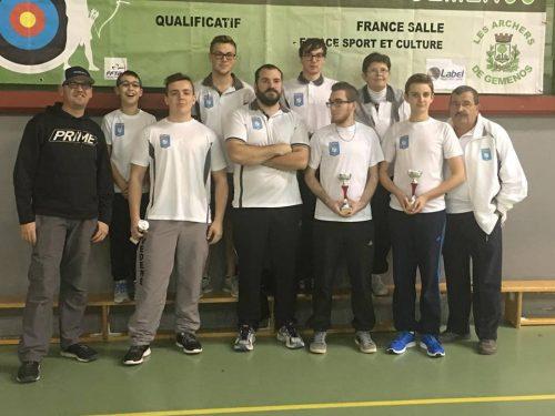 Compétition Salle 2x18m – Gémenos et Avignon 11 Décembre 2016