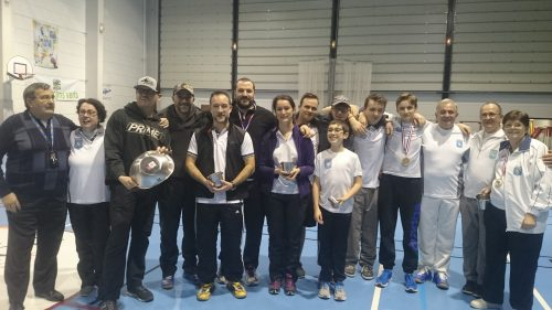 Compétition Salle 2x18m – Cavaillon14 et 15 Janvier