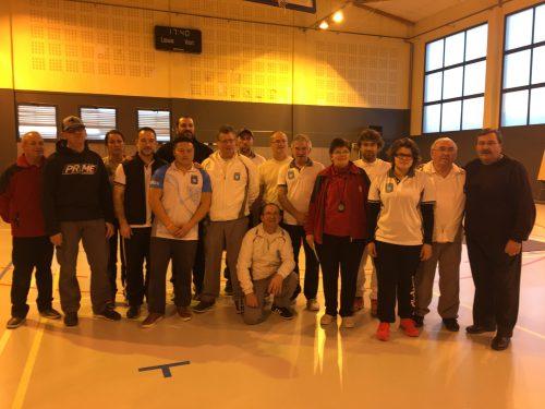 Compétition Salle 2x18m – Morières-lès-Avignon et St Martin de Crau – 26 Janvier 2017