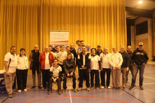 Compétition Salle 2x18m – Vedène 7 et 8 Janvier 2017