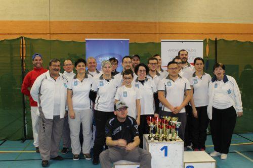 Compétition salle 2x18m – L'Isle-sur-la-Sorgue 4 et 5 février 2017