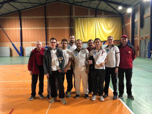 Compétition en salle à Carpentras – 05 Novembre 2017