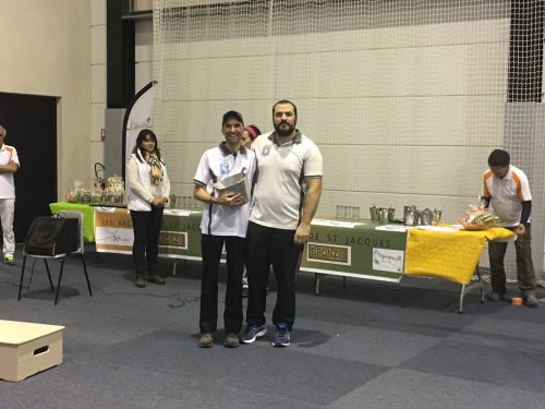Compétition en Salle à Cavaillon – 14 Janvier 2017