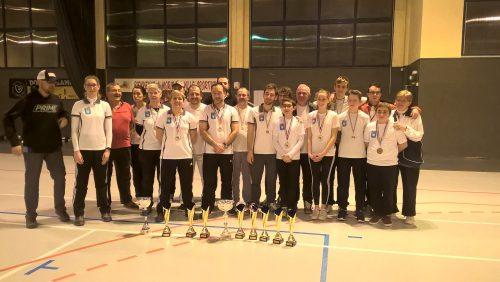 Championnat départemental Salle à Morières-lès-Avignon et Tournoi Européen de Nîmes – 21 Janvier 2017
