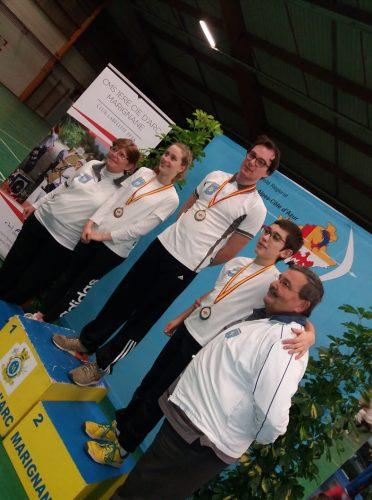 Championnat Régional Jeunes à St Martin de Crau / Compétition à Rives – 11 Janvier 2018