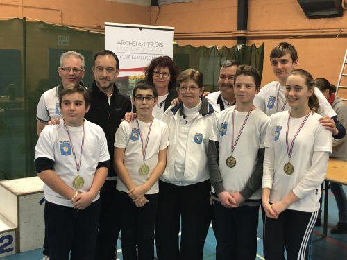 Compétition en Salle à L'Isle-sur-la-Sorgues – 3 et 4 Février 2018