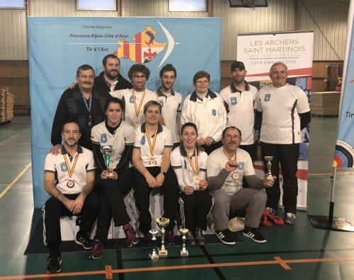 Championnat Régional PACA Adultes – St Martin de Crau 18 Février 2018