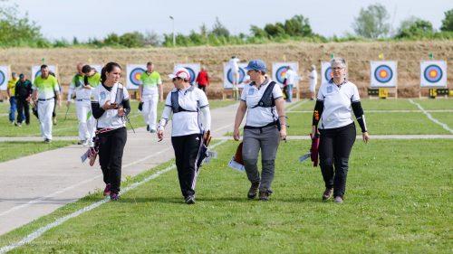 1ère Manche D2 Féminine Manduel – Compétitions Régionales –  29 Avril 2018